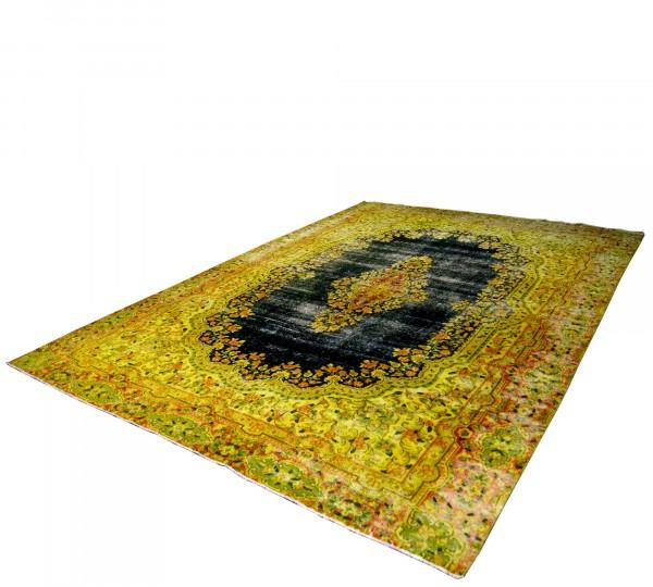 Persicher Vintage Teppich handgeknüpft