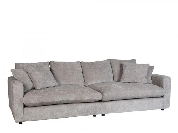 Zuiver Sofa Sense Stoff hellgrau