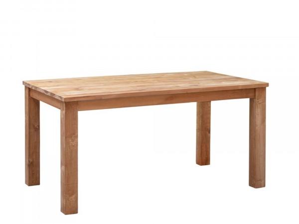 Mssivholz Esstisch rechteckig mit 4 Tischbeinen