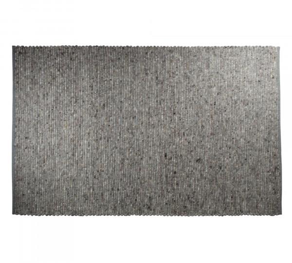 Zuiver Teppich Pure 160x230 hellgrau handgewebt