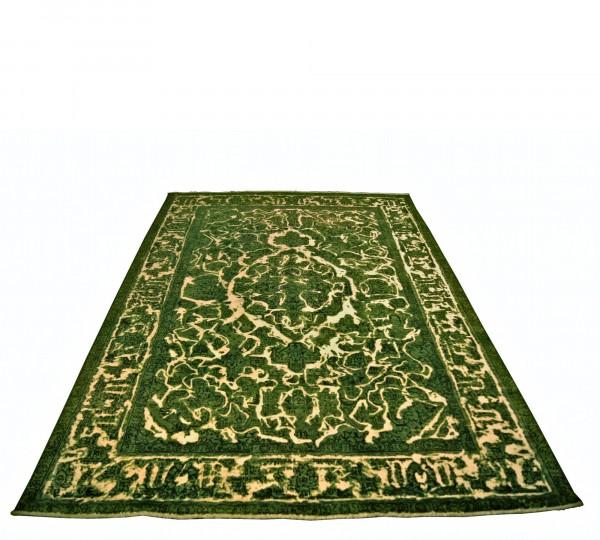 Vintage Carpets 8175 Recolored Teppich 324x214 handgeknüpft persisch grün