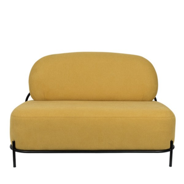 Zuiver Sofa Polly Stoff gelb