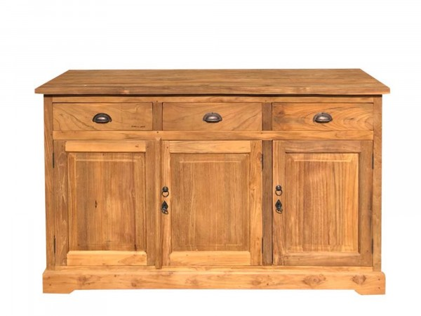 Sideboard Landhausstil Massivholz Teak