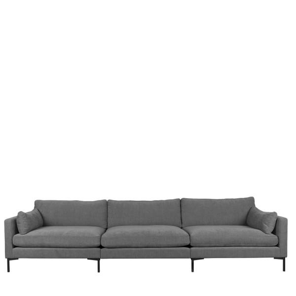 Zuiver Sofa 4,5-Sitzer Summer Stoff anthrazit