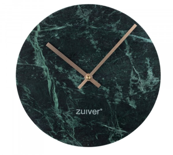 Zuiver Wanduhr TIME MARBLE in grün