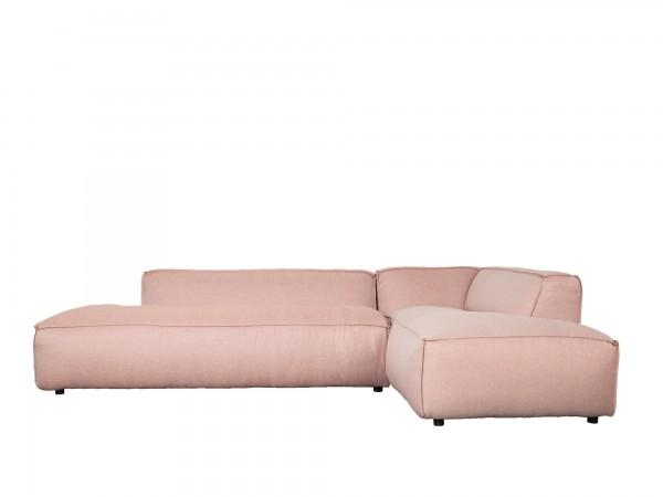Zuiver Designer Sofa Loftstyle Stoff lachsfarbig