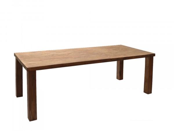 Massiver Holztisch in 220 x 100 cm