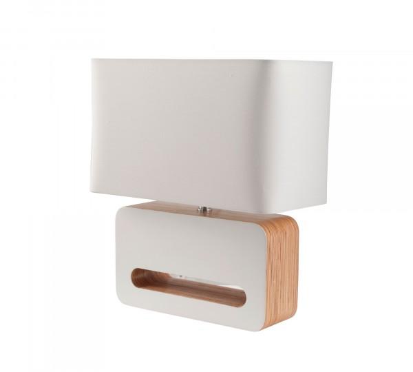 Zuiver Tischleuchte Wood weiß