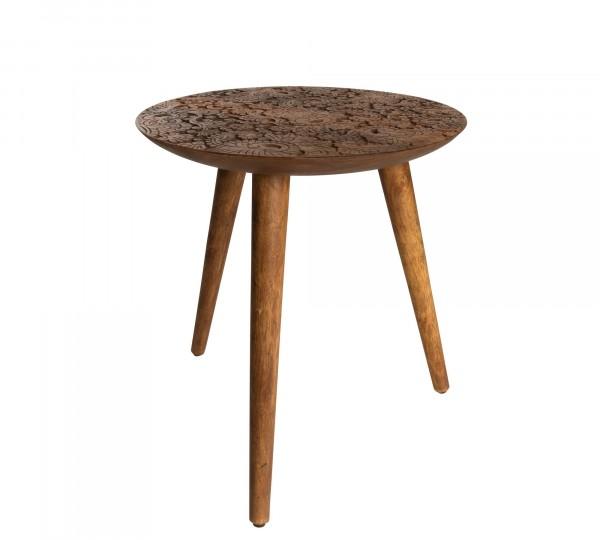 Dutch Bone handgemachter Beistelltisch aus Sheesham Holz