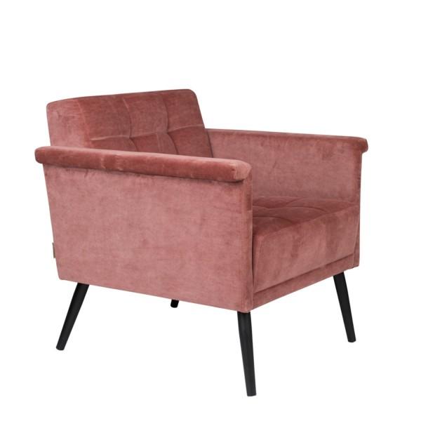 DutchBone Sessel Sir William vintage pink