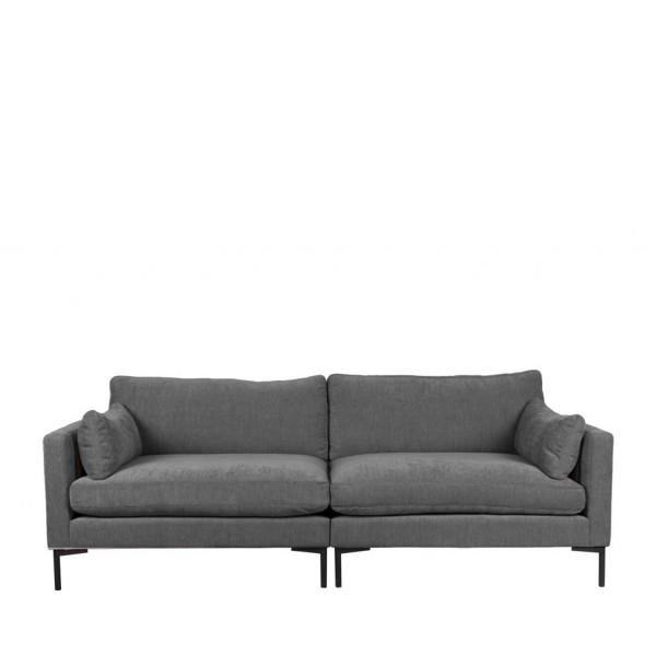 Zuiver Sofa 3-Sitzer Summer Stoff anthrazit