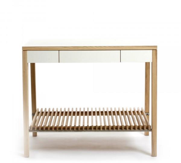 Designerküche aus Holz im modernen Design