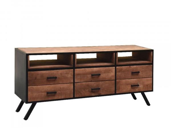 Sideboard FOCUS 165 mit 3 Fächer und 6 Schubladen