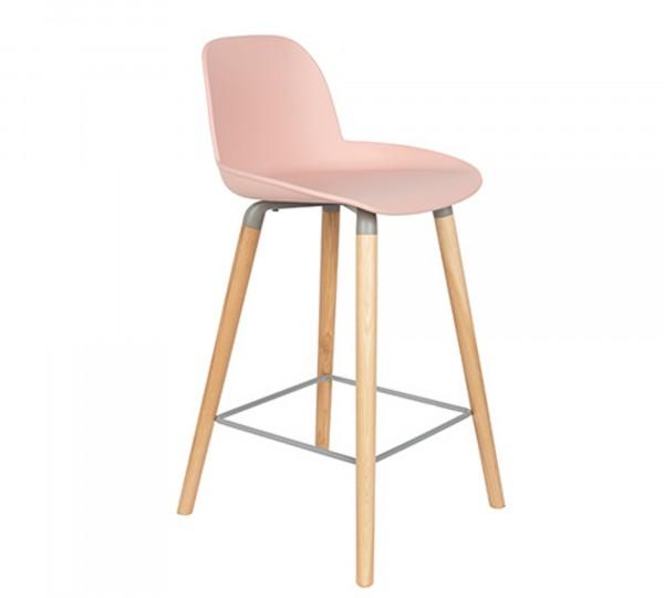 Zuiver Tresenstuhl ALBERT KUIP in pink