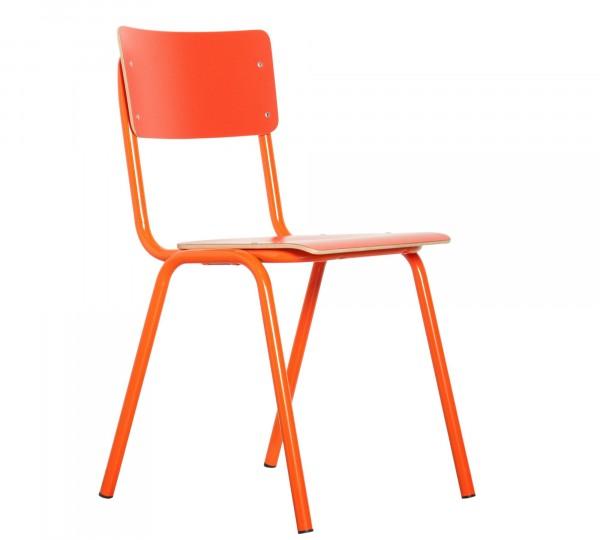 Zuiver Back to School orange Stapelstuhl
