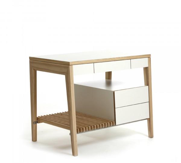 Luxus Designer Loft Küche Holz