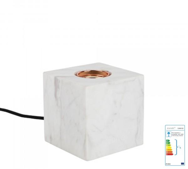 Zuiver Tischleuchte BOLCH aus Marmor in weiß