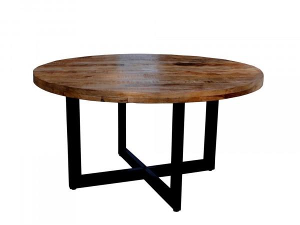 Tisch rund aus Massivholz