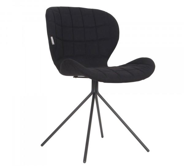 Zuiver OMG Stuhl schwarz