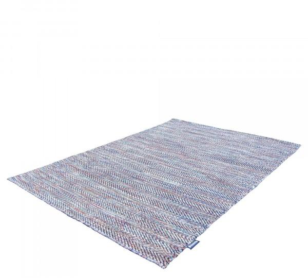 Musterring Handwebteppich FLATWEAVE Ripples 03 multi 160x230cm