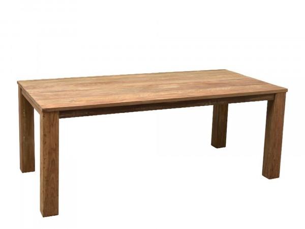 Esstisch aus Massivholz in rechteckiger Tischform