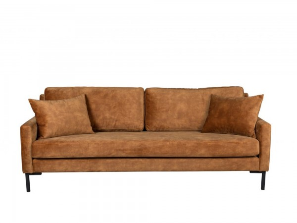 Dutch Bone Sofa 3-sitzig HOUDA caramel