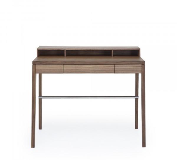 """Mint Design Schreibtisch M2600 """"Compactus"""" Massivholz mit Aufsatz"""