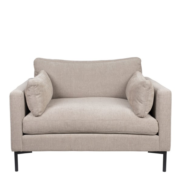 Zuiver Sessel Love Seat Summer Stoff latte