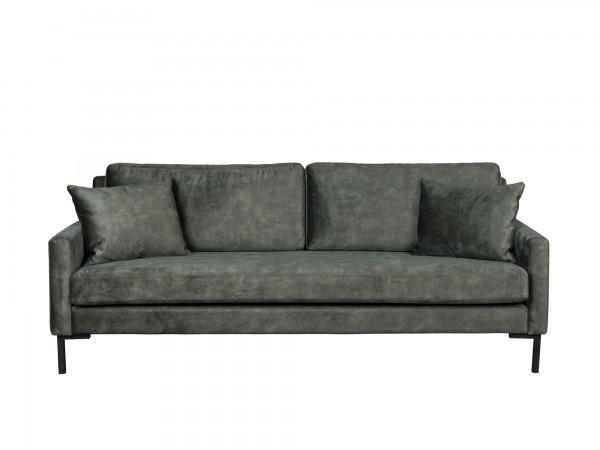 Dutch Bone Sofa 3-sitzig HOUDA grün