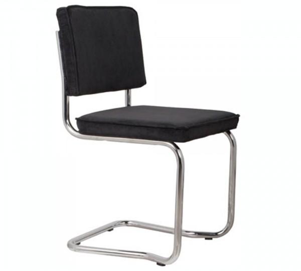 Zuiver Stuhl Ridge Kink Rib schwarz 7A