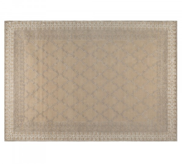 Dutch Bone Webteppich KASBA in beige | 170x240 cm