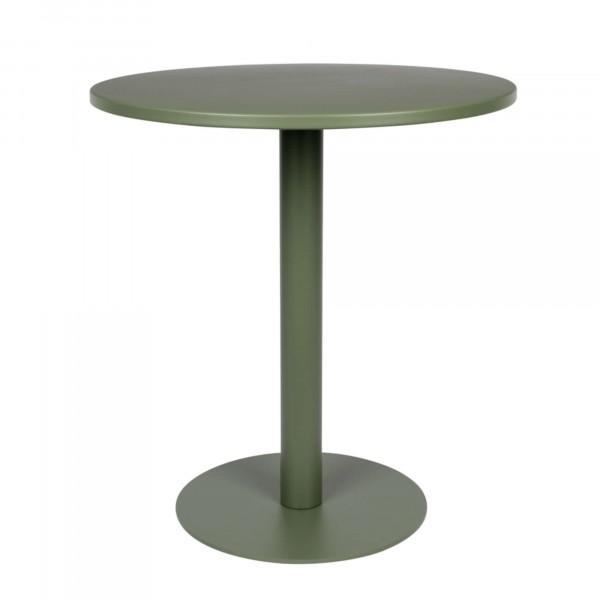 Zuiver Bistrotisch METSU grün 70 cm rund outdoor
