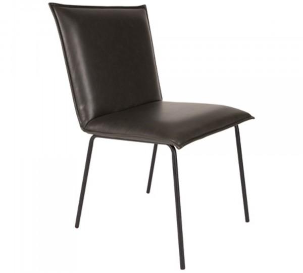 Zuiver Stuhl FLOKE in schwarz