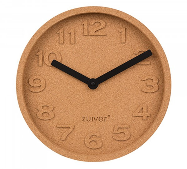 Zuiver Wanduhr CORK TIME