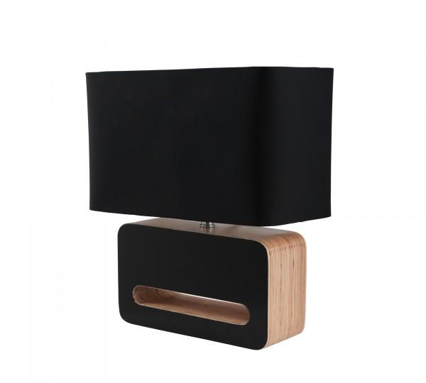 Zuiver Tischleuchte Wood schwarz