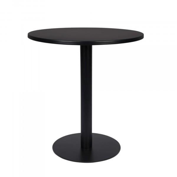 Zuiver Tisch Metsu schwarz rund outdoor