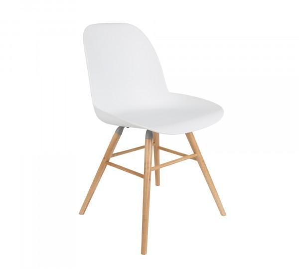 Zuiver Stuhl Albert in weiß