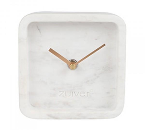 Zuiver Uhr LUXURY TIME aus Marmor in weiß