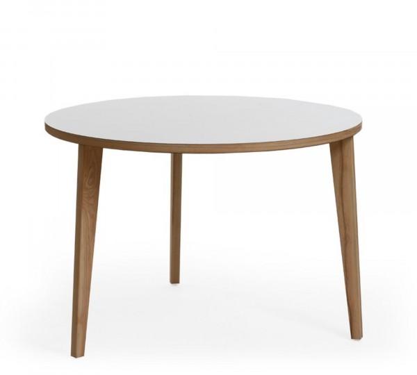 """Mint Design Tisch """"TABLE"""" aus Massivholz rund"""