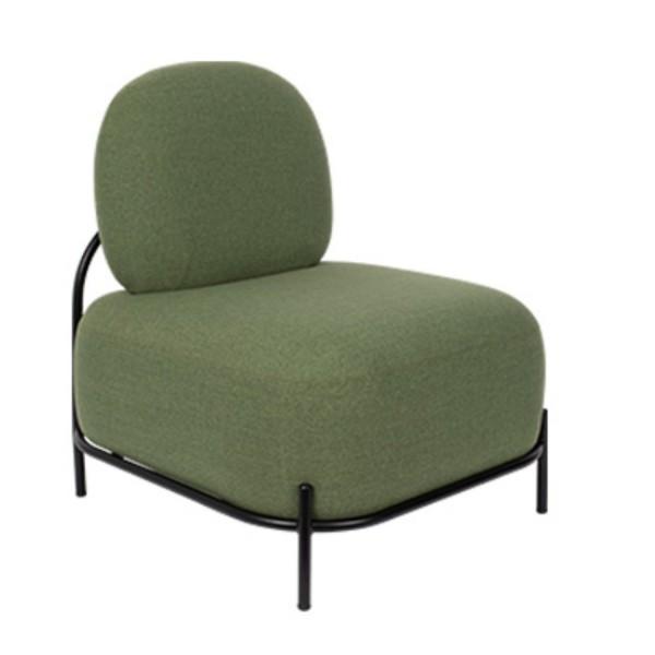 Zuiver Polly Sessel Stoff grün
